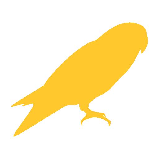 MSE Studio Symbol Bird Yellow