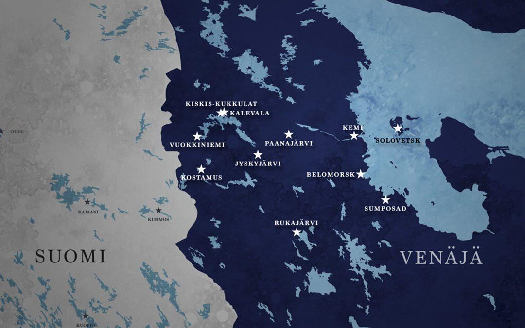 Custom-Made Map + Animation