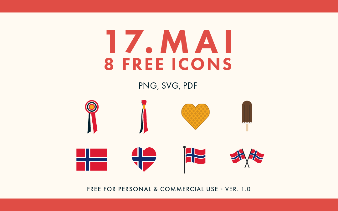 17.mai Free Icon Set