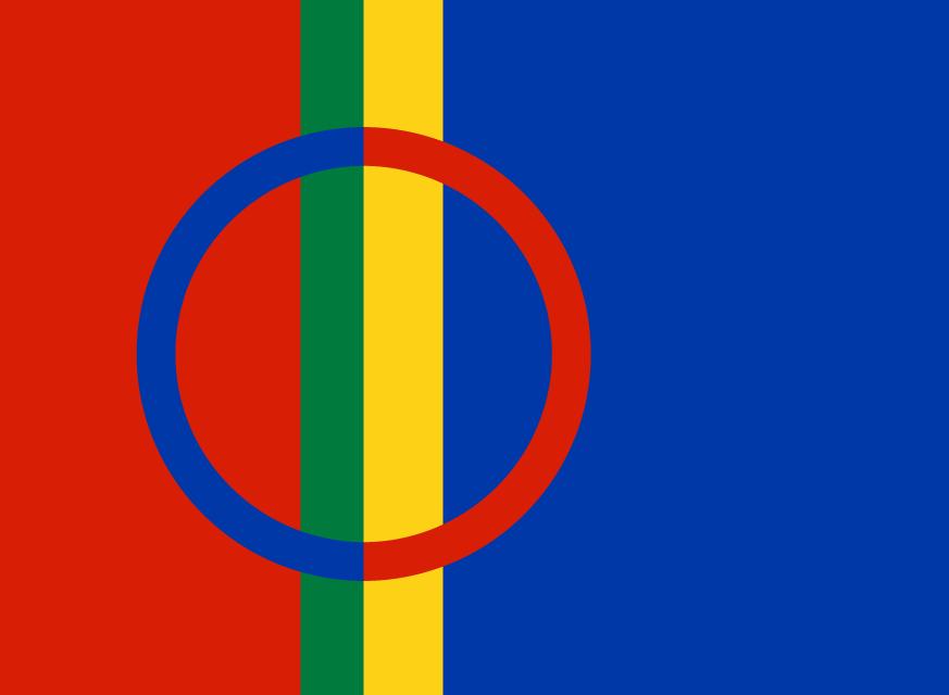 The Sami Flag - Icon